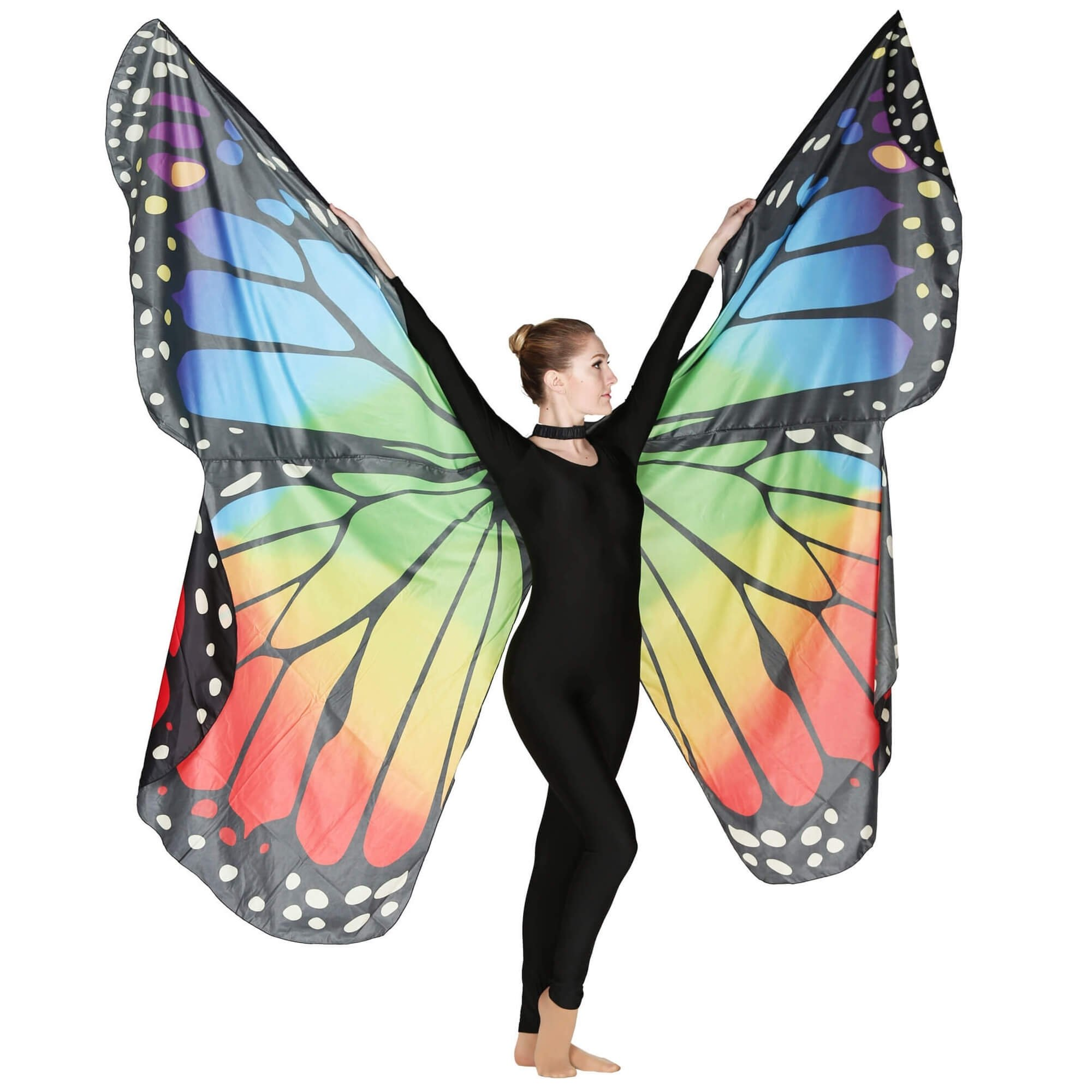 Danzcue Adult Rainbow Butterfly Wing