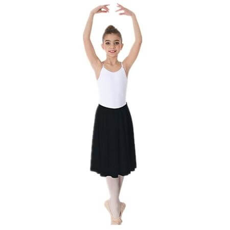 Body Wrappers Child Above-The-Knee Circle Skirt