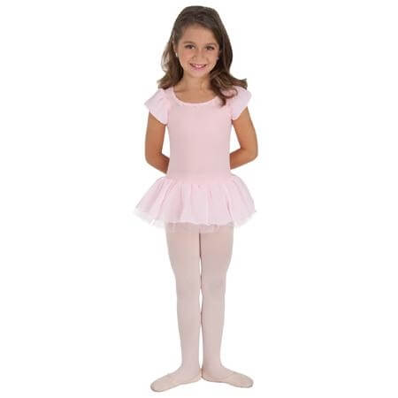 Body Wrappers Girls Tutu Leotard