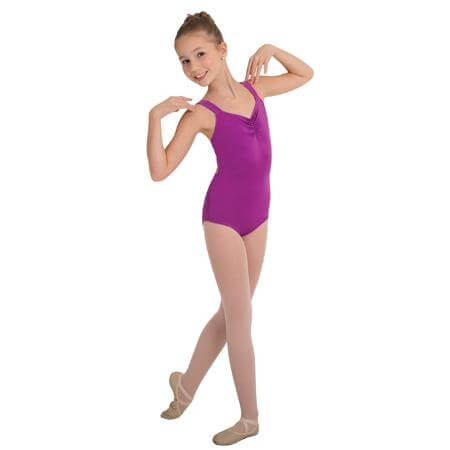 Body Wrappers Girls Camisole Leotard