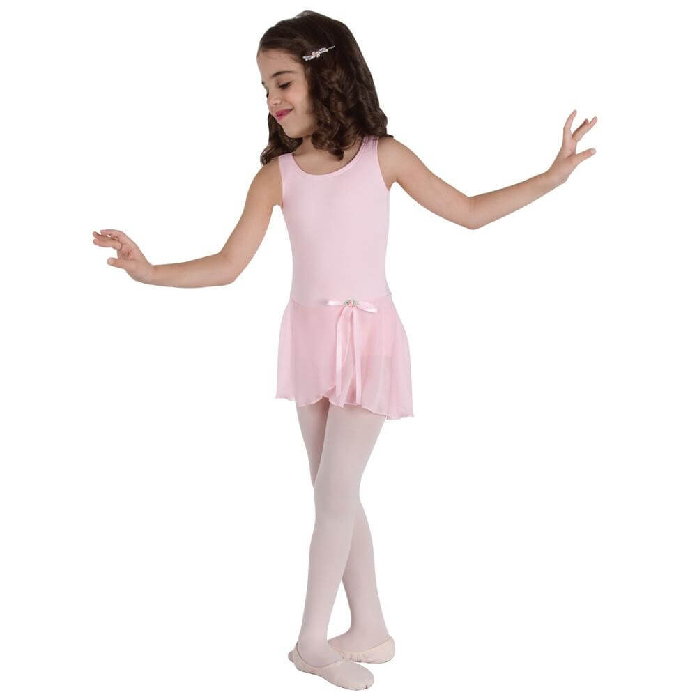 Body Wrappers Child Microfiber Tank Leotard