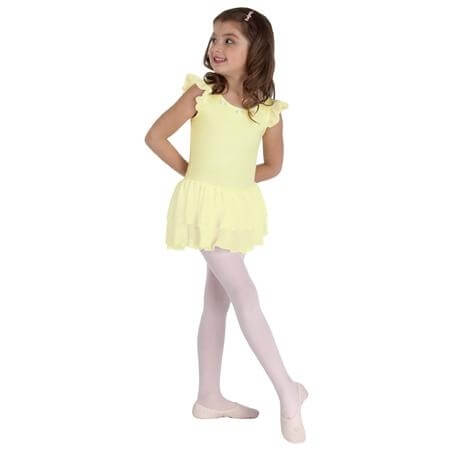 Body Wrappers Child Microfiber Flutter Sleeve Leotard