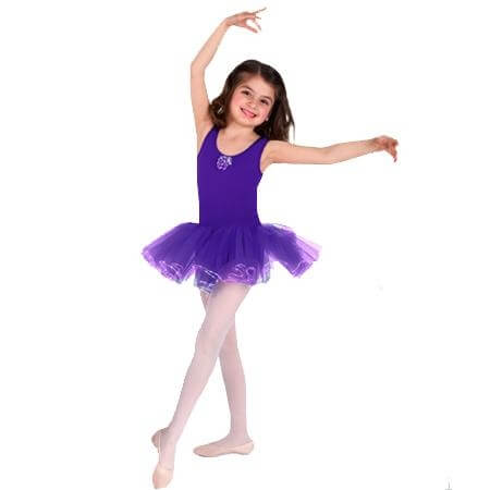 Body Wrappers Child Tank Tutu Leotard
