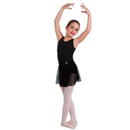 Body Wrappers Child Eloquent Tank Leotard with Three Mesh Back Rows