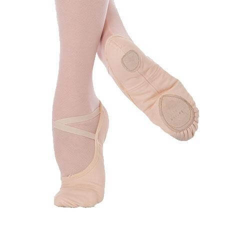 Body Wrappers Child Wendy Total Stretch Canvas Ballet Slipper