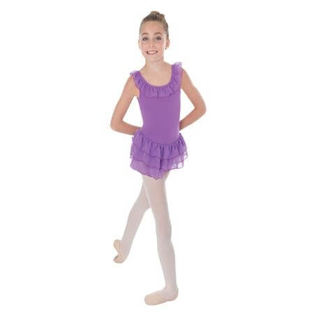 Body Wrapper Child 3-Tier Ruffle Skirt