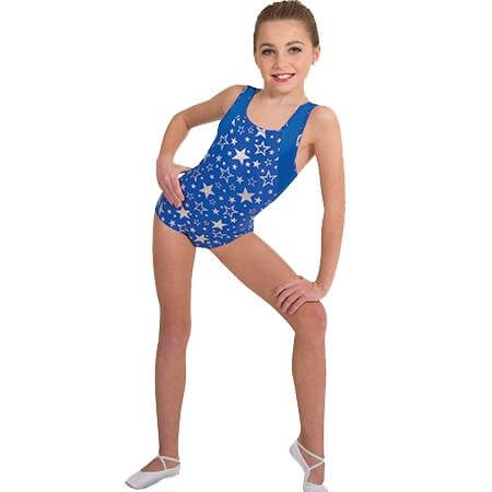 Body Wrappers Child Racerback Leotard