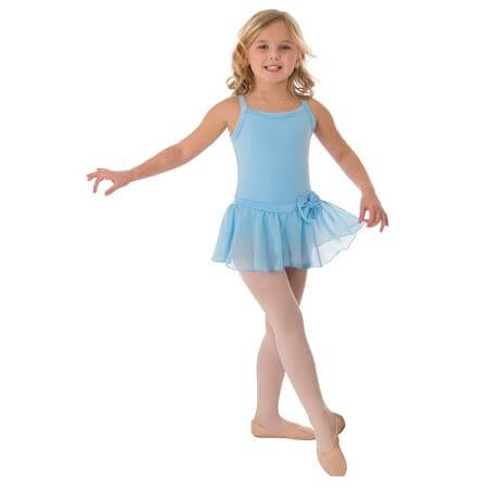 Body Wrappers Child Camisole Skirted Leotard