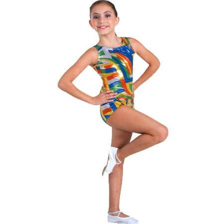Body Wrappers Leotard with Cloverleaf Back Detail
