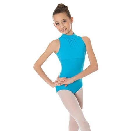 Body Wrappers Child High Neck Leotard