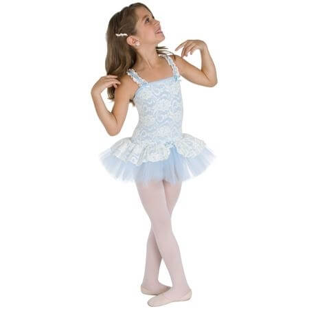 Body Wrappers Child Lacy Camisole Tutu
