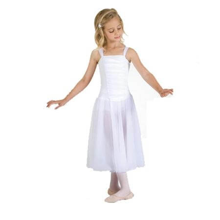 Body Wrappers Child Tutu dress with Full Two Layer Skirt