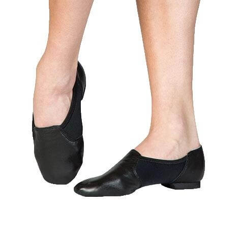 Body Wrappers Seamless Split Sole Jazz Shoe - Click Image to Close