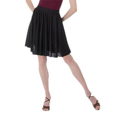 Body Wrappers Adult Above-The-Knee Circle Skirt