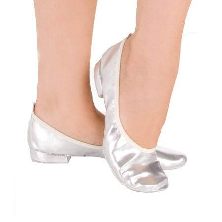 Veena Metallic Foldable Slipper