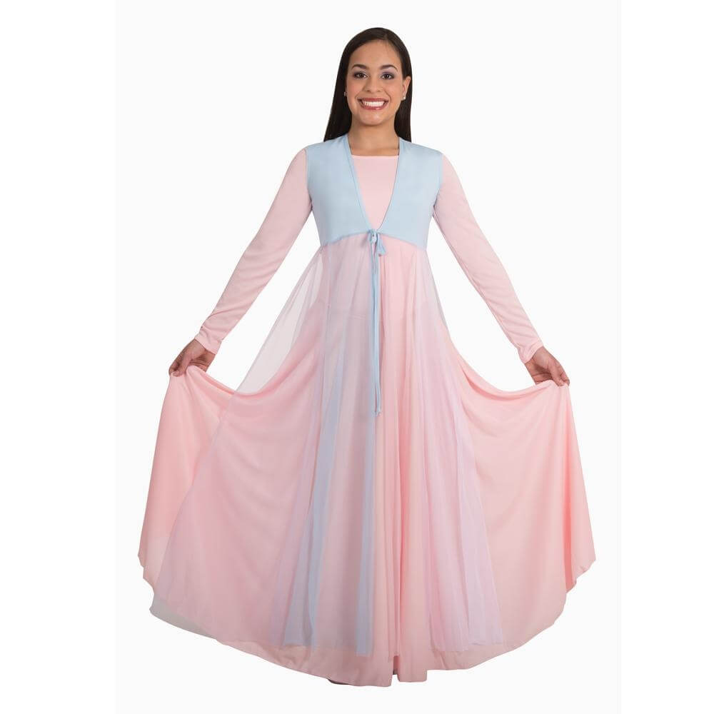 Dance of Spirit Calf Length Streamer Vest Liturgical Dance