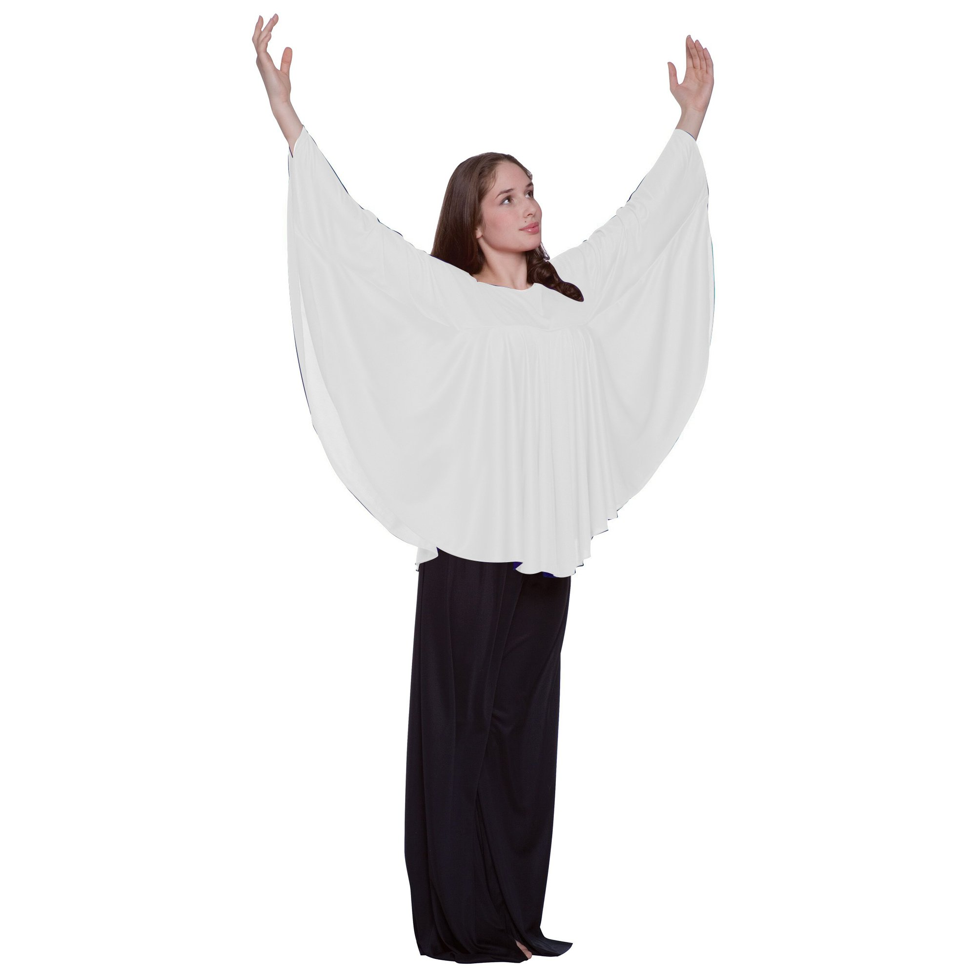 Bodywrappers Angel Wing Drapey Pullover