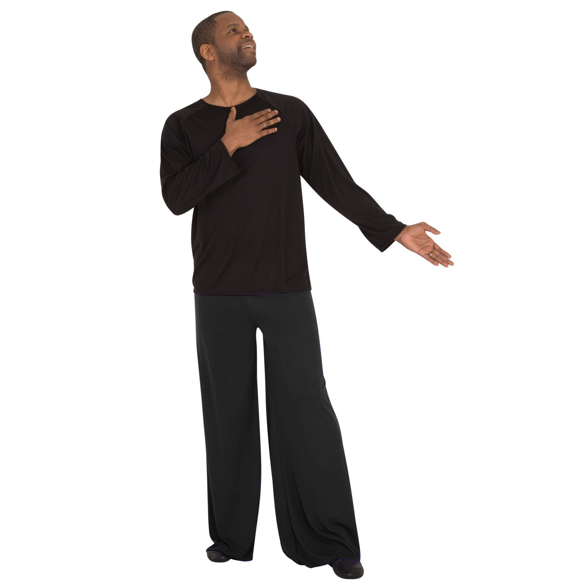 Body Wrappers Worship Dance Pull-On Unisex Pants