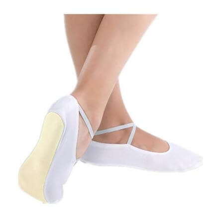 Body Wrappers Angelo Luzio Adult Nadia Suede Sole Gymnastics Shoes