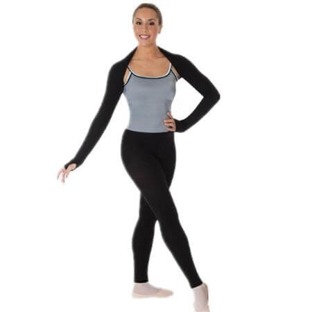 Body Wrappers Brushed Featherweight Easy-Fit Shrug