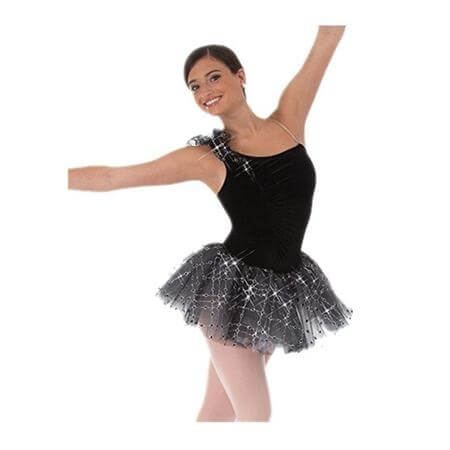 Body Wrappers Plush Asymmetrical Tutu