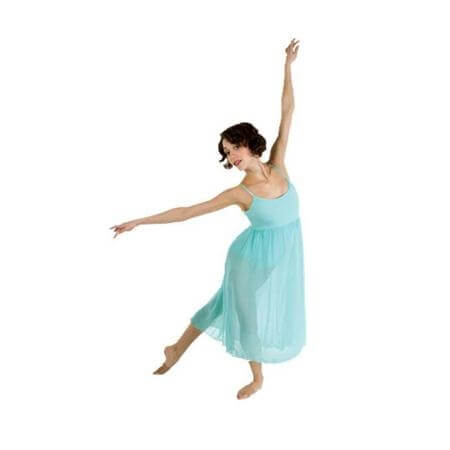 Body Wrappers Chiffon Camisole Dance Dress