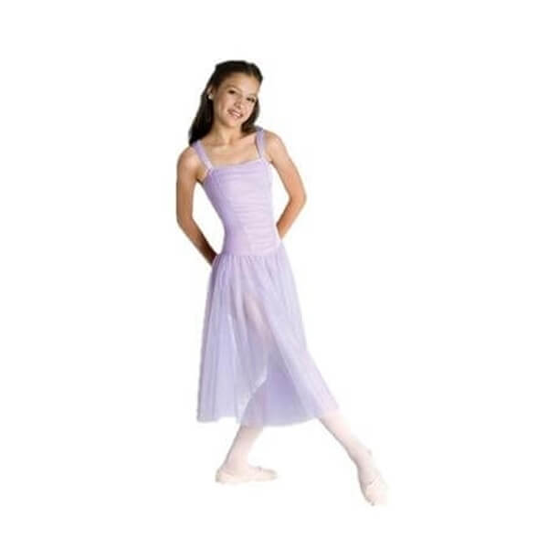 Body Wrappers Tutu dress with Full Two Layer Skirt