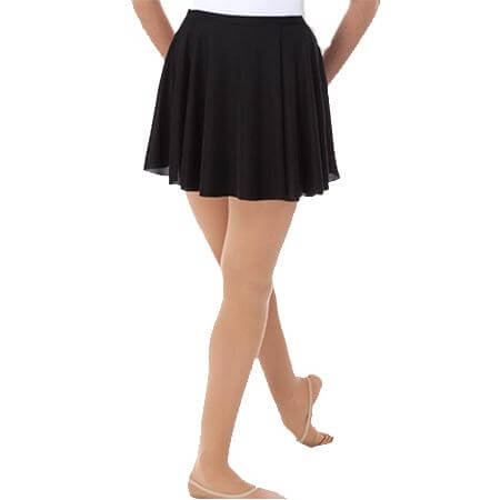 "Body Wrappers 14"" Half Circle Wrap Around Skirt Mid Thigh"