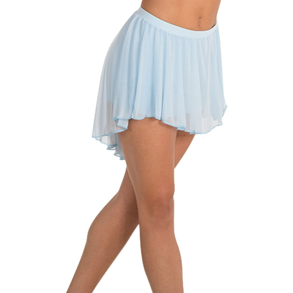 Body Wrappers Adult Pull-On Full Bouncy Chiffon Skirt