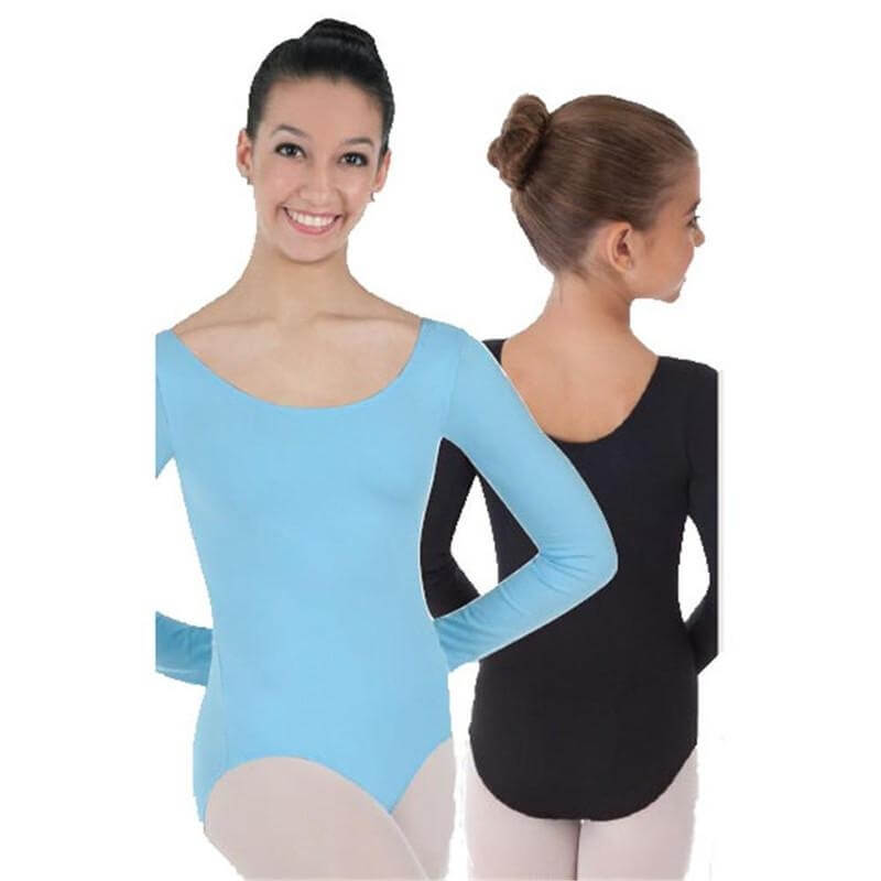Body Wrappers Color Custom Child ProWEAR Long Sleeve Ballet Cut Leotard