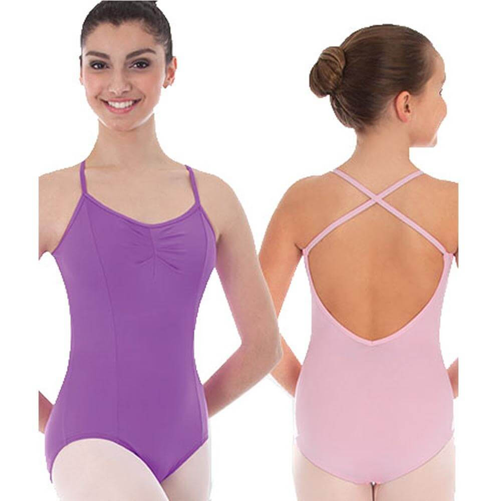 Body Wrappers Color Custom Adult Camisole Princess Seam Ballet Cut Leotard