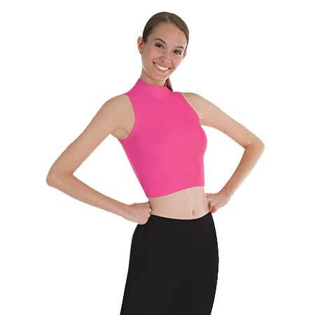 Body Wrappers Color Custom Adult Mock Neck Pullover