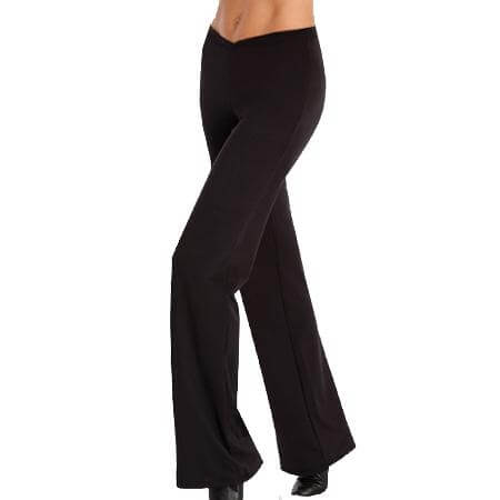 Body Wrappers Color Custom Adult V-Front Jazz Pant