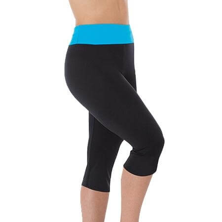 Body Wrappers Color Custom Adult High-Waist Crop Pant