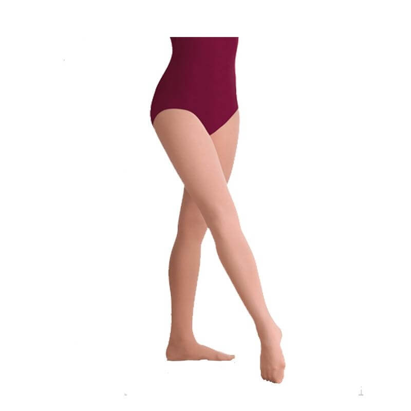 Bodywrappers totalSTRETCH Girls Footed Tights