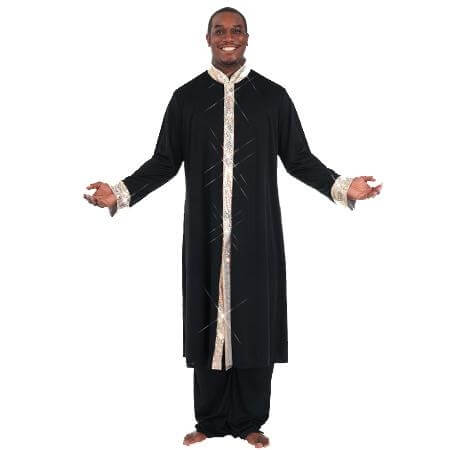Body Wrappers Stained Glass Mens Robe