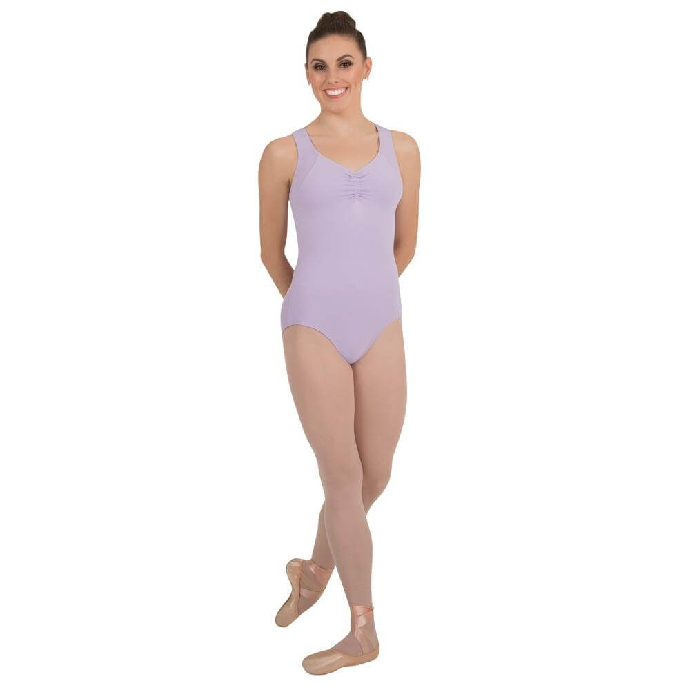Body Wrappers Curve Back Tank Leotard