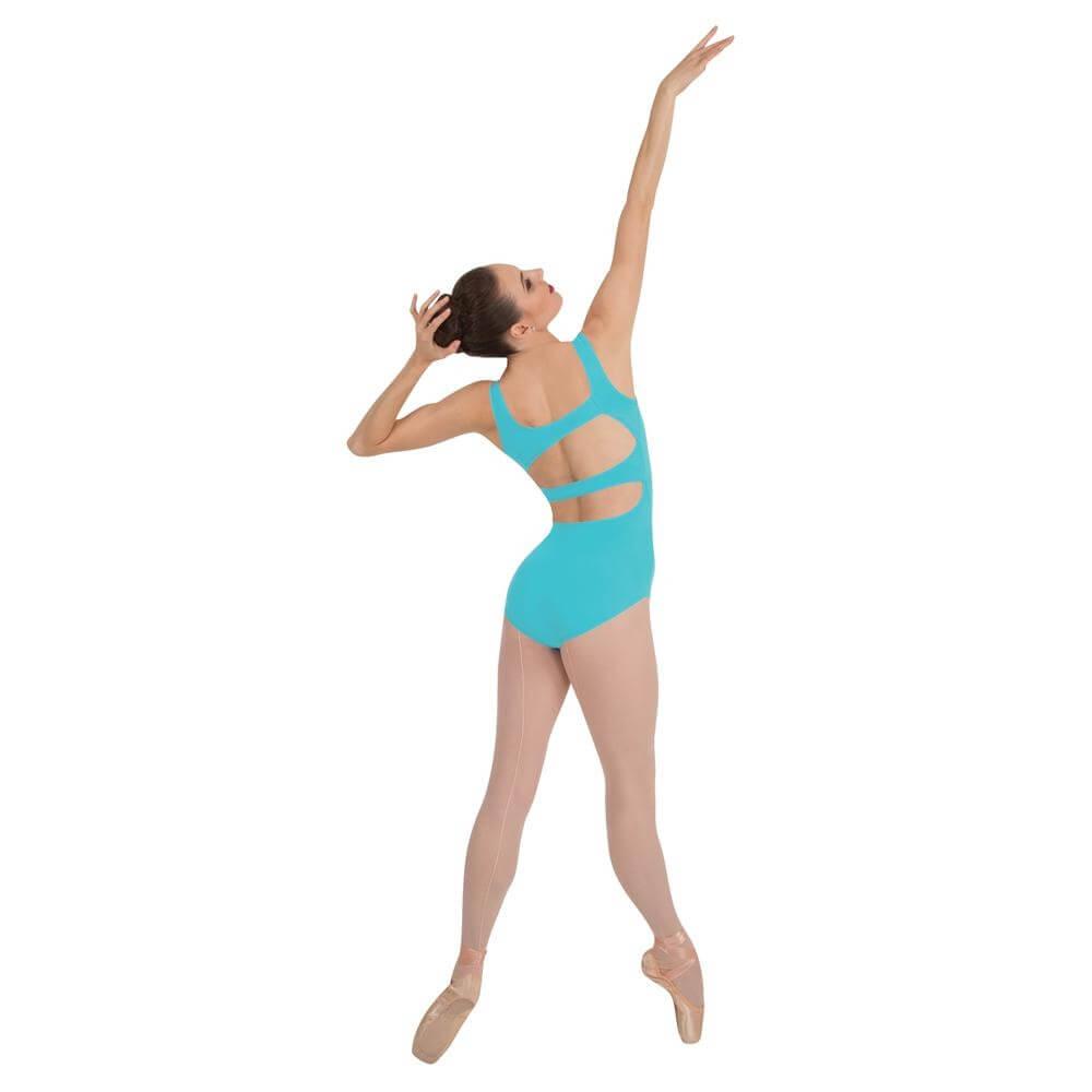 Body Wrappers / Tiler Peck Designs Asymmetrical Back Strap Leotard