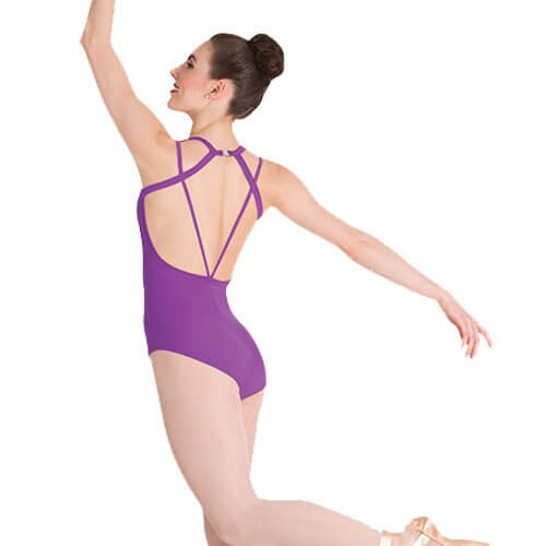 Body Wrappers Double Strap Leotard