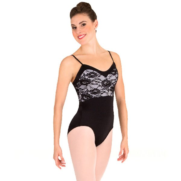 Body Wrappers P1083 Sweetheart Lace Bodice Leotard