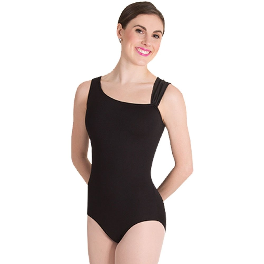 Body Wrappers Asymmetrical Strap Leotard