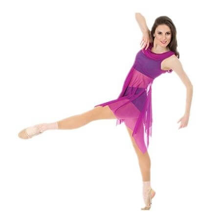 Body Wrappers / Premiere Dance Drape Mesh Tunic