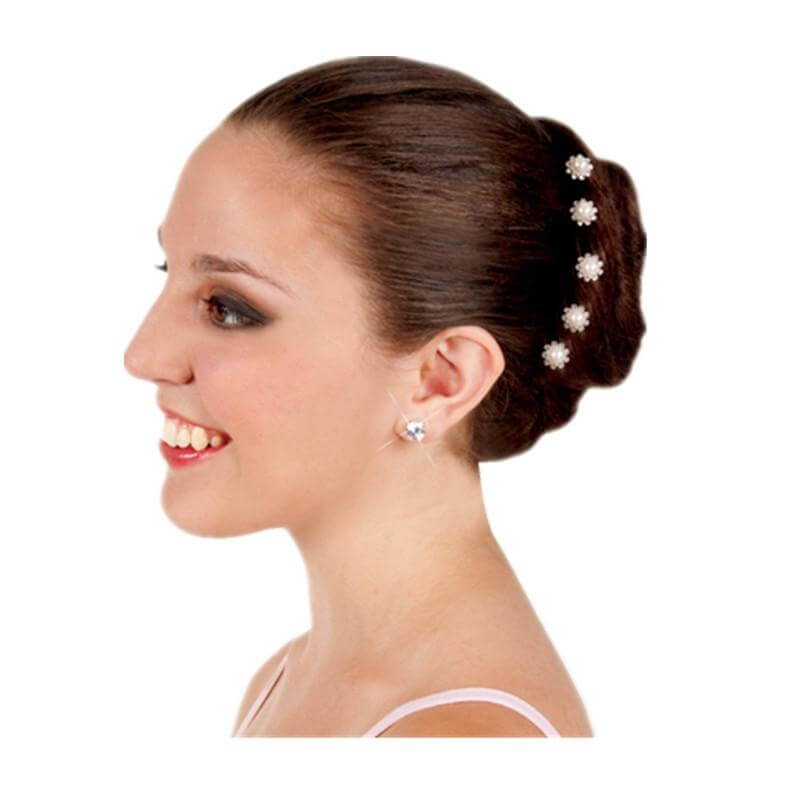Body Wrappers Pearl Rhinestones Hairpins
