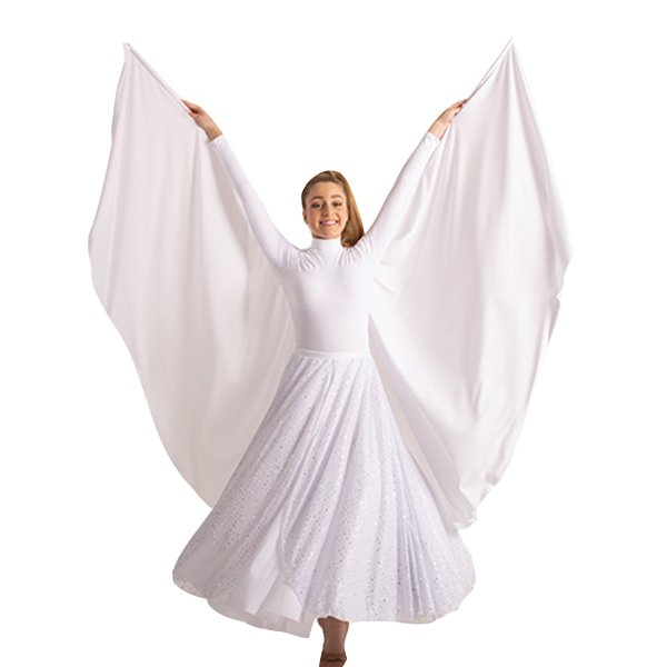 Body Wrappers Worship Dance Women Angel Wing