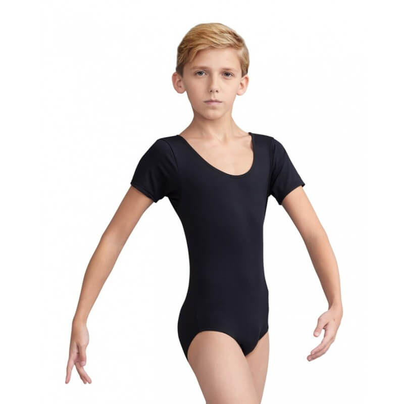 Capezio Boys' Short Sleeve Leotard