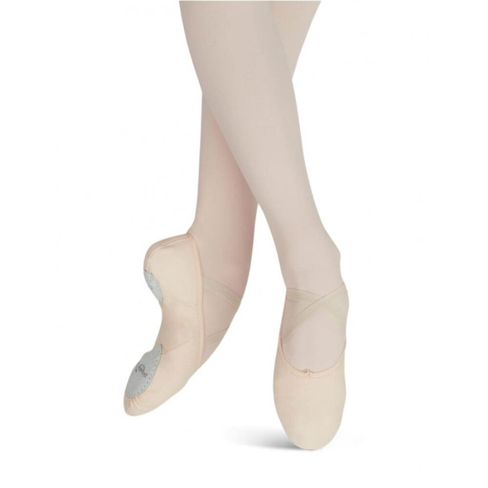 Capezio Adult Canvas Juliet Ballet Slipper