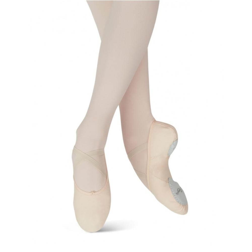 Capezio Child Canvas Juliet Ballet Slipper