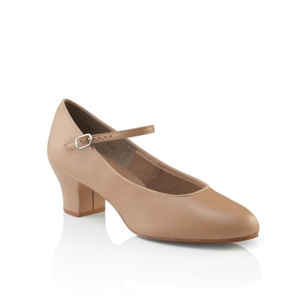 Capezio Adult Suede Sole Jr. Footlight Character Shoe