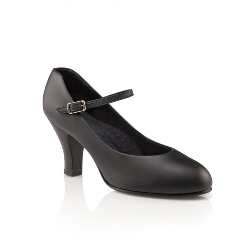 "Capezio 656 Adult 3"" Heel Theatrical Footlight Character Shoe"