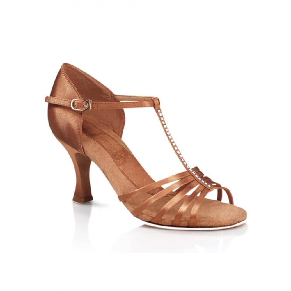"Capezio Adult Crystal Danielle 2.5"" Heel Ballroom Shoe"